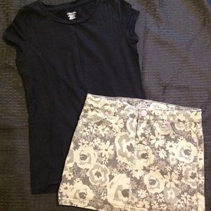 Girls size 7-8 outfit